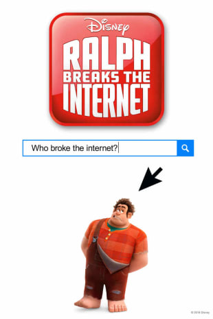 movie poster for Ralph Breaks The Internet