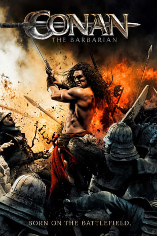 movie poster for Conan The Barbarian