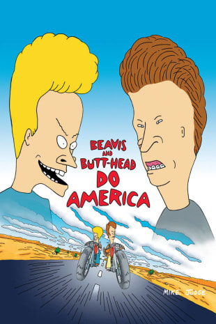 movie poster for Beavis And Butt-Head Do America
