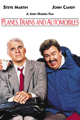 movie poster for Planes, Trains and Automobiles
