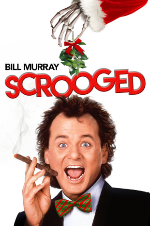 movie poster for Scrooged