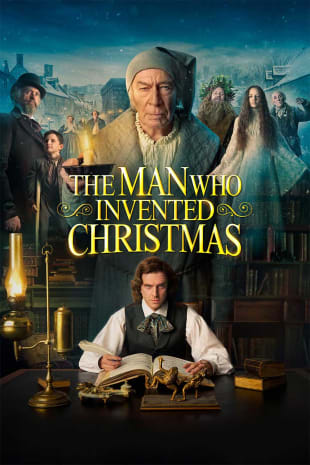movie poster for The Man Who Invented Christmas