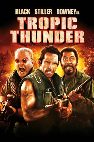 movie poster for Tropic Thunder