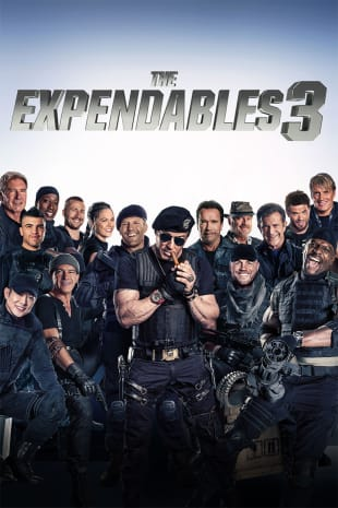 movie poster for The Expendables 3