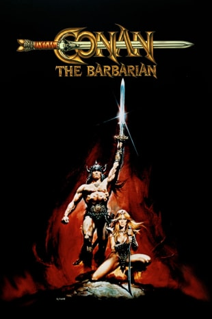 movie poster for Conan The Barbarian (1982)