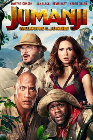 movie poster for Jumanji: Welcome To The Jungle