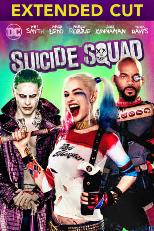 movie poster for Suicide Squad (Extended Cut)