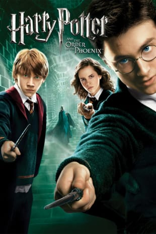 movie poster for Harry Potter And The Order Of The Phoenix