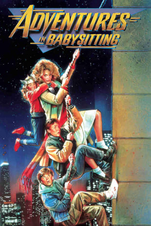 movie poster for Adventures in Babysitting