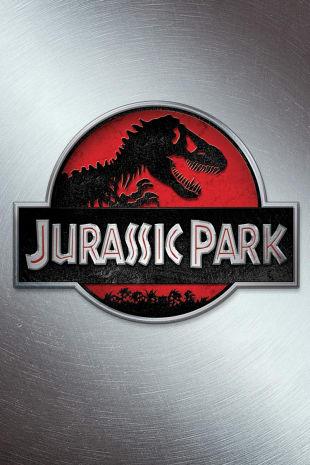 movie poster for Jurassic Park