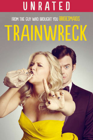 movie poster for Trainwreck (Unrated)