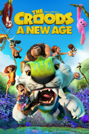 movie poster for The Croods: A New Age