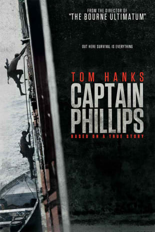 movie poster for Captain Phillips