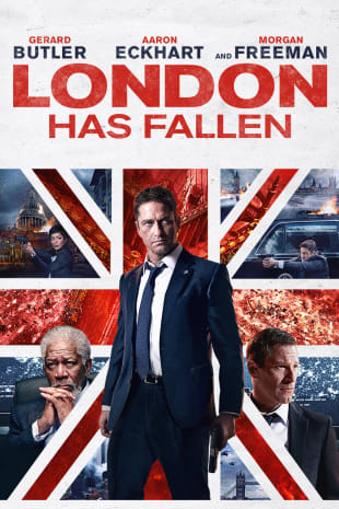 movie poster for London Has Fallen
