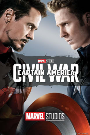 movie poster for Captain America: Civil War