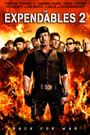 movie poster for The Expendables 2