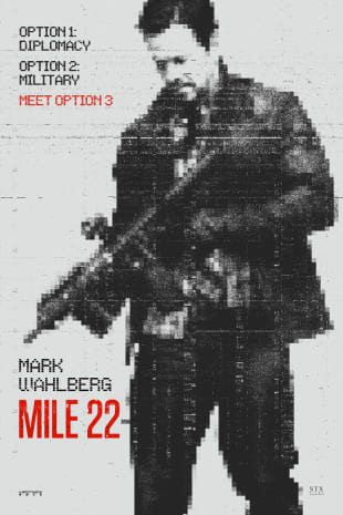 movie poster for Mile 22