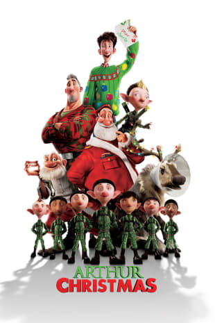 movie poster for Arthur Christmas