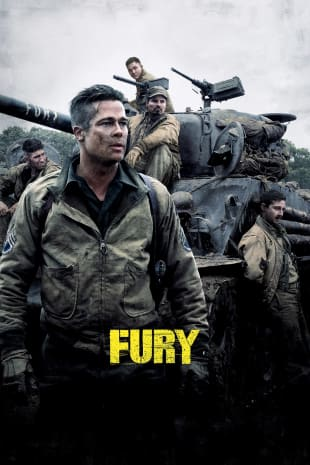 movie poster for Fury