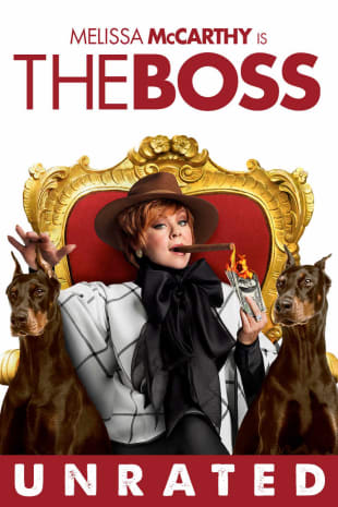 movie poster for The Boss (Unrated)