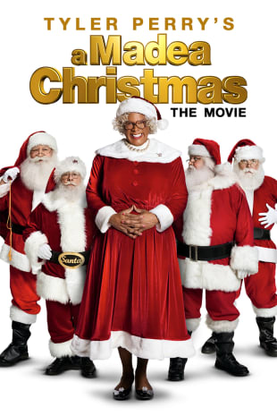 movie poster for Tyler Perry's A Madea Christmas