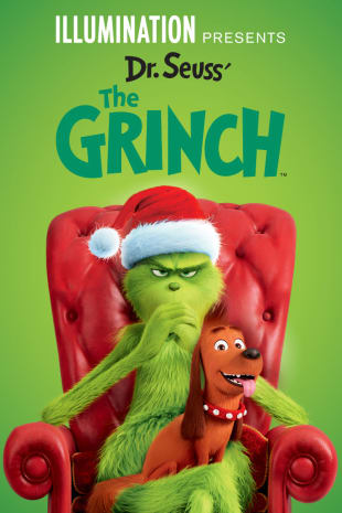 movie poster for Dr. Seuss' The Grinch