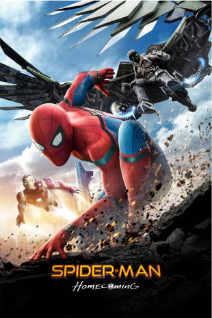 movie poster for Spider-Man: Homecoming
