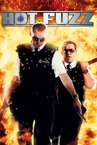 movie poster for Hot Fuzz