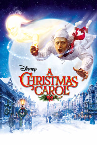 movie poster for Disney's A Christmas Carol