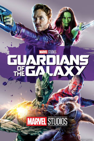 movie poster for Guardians Of The Galaxy