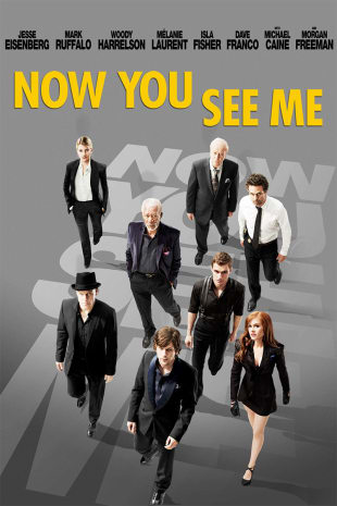 movie poster for Now You See Me