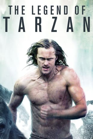 movie poster for The Legend Of Tarzan