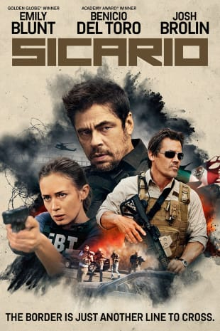 movie poster for Sicario