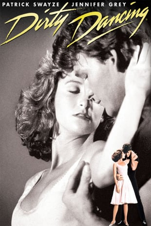 movie poster for Dirty Dancing