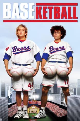 movie poster for BASEketball