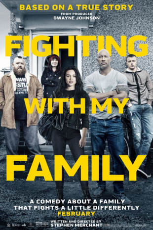 movie poster for Fighting With My Family
