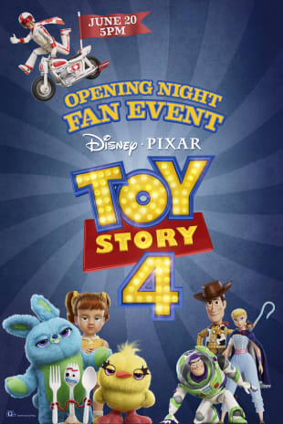 movie poster for Opening Night Fan Event: Toy Story 4