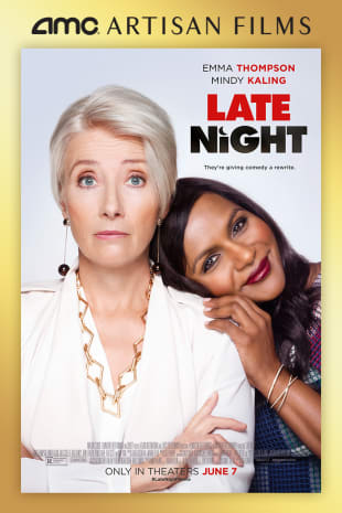 movie poster for Late Night