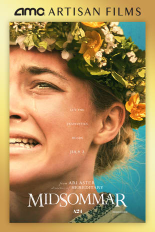 movie poster for Midsommar