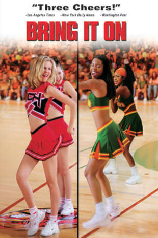 movie poster for Bring It On