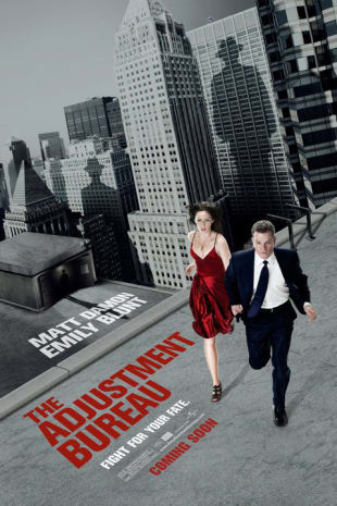 movie poster for The Adjustment Bureau