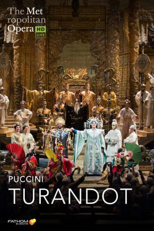 movie poster for MetLive: Turandot (2019)