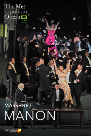 movie poster for MetLive: Manon (2019)