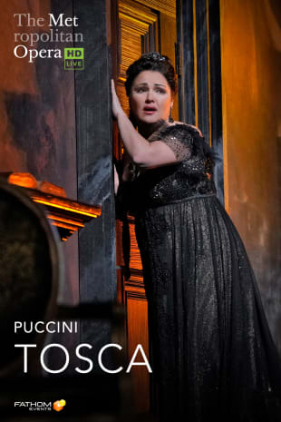 movie poster for MetLive: Tosca (2020)