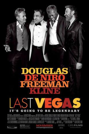 movie poster for Last Vegas
