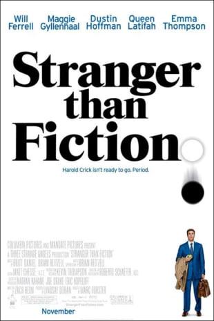 movie poster for Stranger Than Fiction
