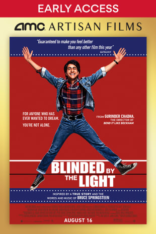 movie poster for Springsteen Fan Event: Blinded By The Light