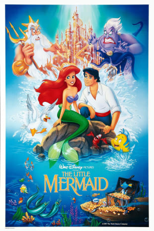 movie poster for Dream Big Princess: The Little Mermaid