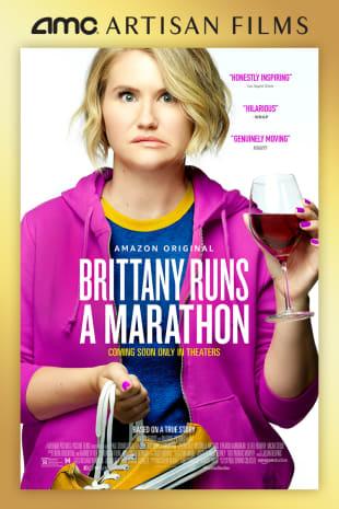 movie poster for Brittany Runs A Marathon