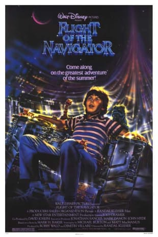 movie poster for Flight of the Navigator